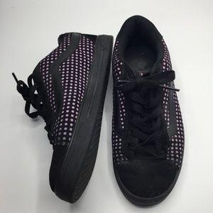 Vans Mercer Polka Dot Leather Sneakers Size 10